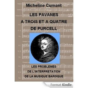 Publication ebook Pavanes de Purcell