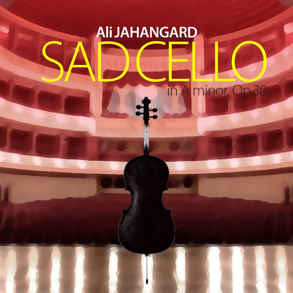 Free sheet music : Jahangard, Ali - Op 30 - Sad Cello (Cello, Piano)